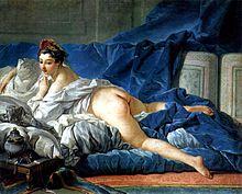 フランソワ・ブーシェ『ブルネット髪のオダリスク』1749