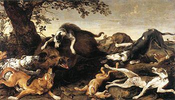 スナイデルス『野猪狩り』
