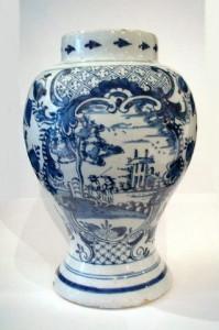 18世紀のデルフト陶器