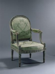 1788年頃 ブナ材、木彫、塗装 96.3×63.3×65.3cm ヴェルサイユ宮殿美術館 ©RMN-GP (Château de Versailles)