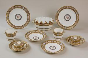 1784年頃 磁器、軟質陶土、硬質陶土、釉薬、金彩 ヴェルサイユ宮殿美術館 ©Château de Versailles (Dist. RMN-GP)/©Jean-Marc Manaï